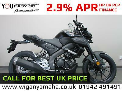YAMAHA MT-125 ABS 2020 MODEL, 0 MILES, ICE FLUO, ICON BLUE OR TECH BLACK...