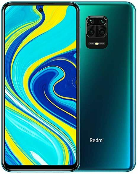 "Xiaomi Redmi Note 9S 64GB Ram 4 gb Smartphone Display 6.67"" FHD Green Verde"