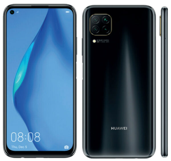 Huawei P40 lite 128gb Ram 6gb Smartphone Colore Verde e Nero Display 6.4