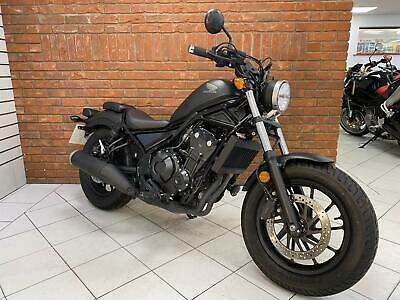 2020/20 Honda CMX 500 A-K REBEL With Just 1021 Miles Finished In Grey