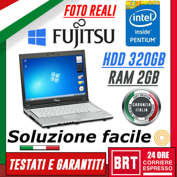 PC NOTEBOOK PORTATILE FUJITSU LIFEBOOK S6410 13