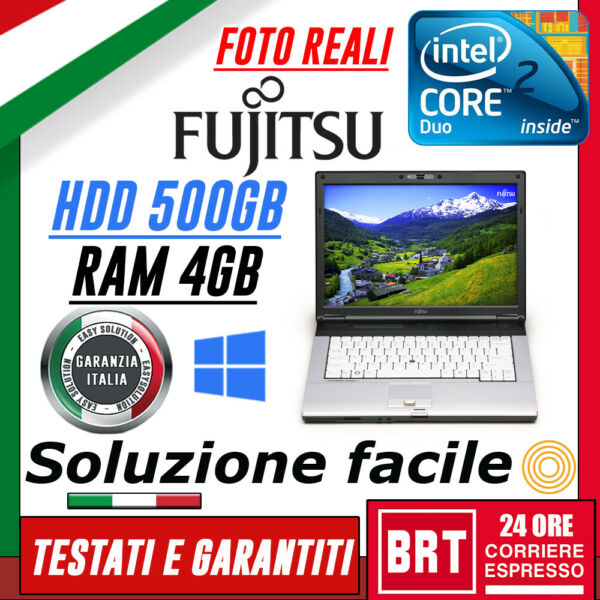 PC NOTEBOOK PORTATILE FUJITSU LIFEBOOK S7220 14