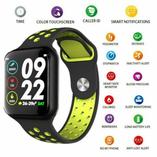 Smartwatch bluetooth activity tracker cardio fitness per Android e iOS Andowl