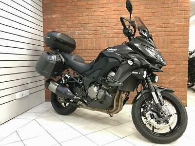2015/15 Kawasaki KLZ 1000 BGF With 10189 Miles Finished In Grey
