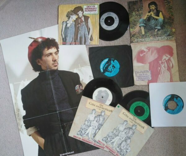 Dexys Midnight Runners kevin rowland come on eileen poster 7inch Vinyl Single