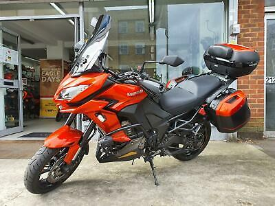 2016 Orange Kawasaki Versys 1000 ABS Grand Tourer Adventure