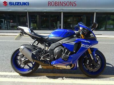 2017 YAMAHA YZF R1 IN BLUE, LOW MILEAGE EXAMPLE