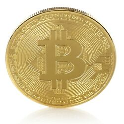 Kyпить Bitcoin Gold Plated BTC Token Miner Cryptocurrency Commemorative Collection 1 pc на еВаy.соm