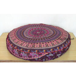 Kyпить 12 Pcs Wholesale Lots Indian Ombre Mandala Floor Cushion Covers Home Decorative на еВаy.соm