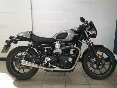 2019 TRIUMPH STREET CUP 900...ONE OWNER FROM NEW.