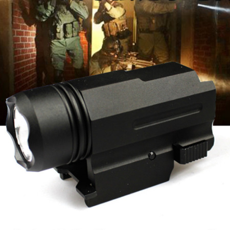 img-600LM Tactical Airsoft Compact LED Flashlight Torch Hunting 2Models Lamp