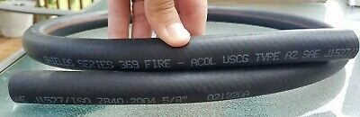 Shields Marine, Boat 5/8 ID Fuel Hose SAE J1527 Type A2 PRICE PER FOOT