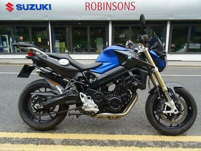 2015 65 reg BMW F800R in blue and black. great naked machine.