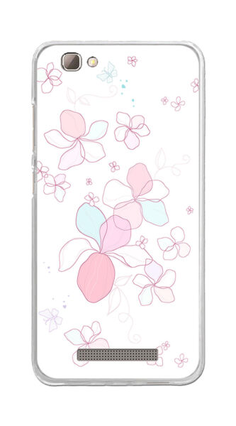 EspagneCover Gel TPU Case Cover For ZTE Blade A610/A612 Design Flowers- Drawings