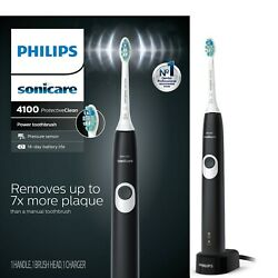 Kyпить Philips Sonicare ProtectiveClean 4100 Black Electric Toothbrush NEW !!! на еВаy.соm