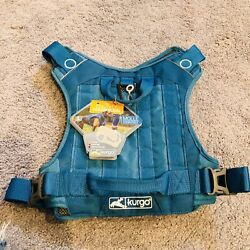 Kurgo RSG Dog County Harness - BLUE -  NEW - Size LARGE, Molle Compatible