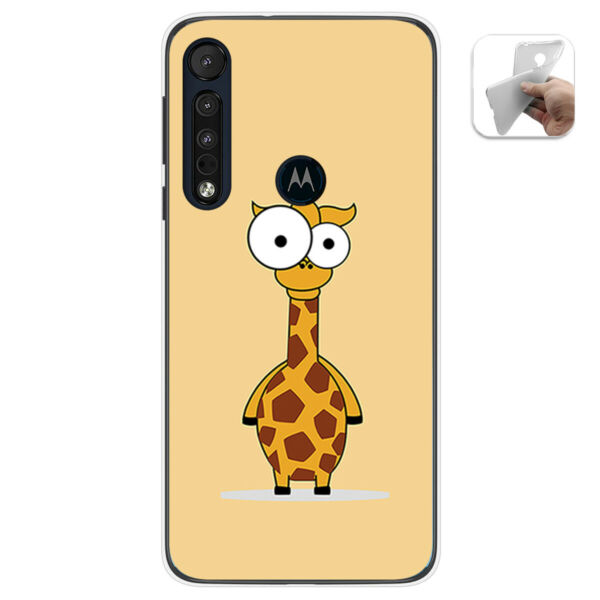 EspagneCoque Gel TPU Pour Motorola One Macro Design  Dessins