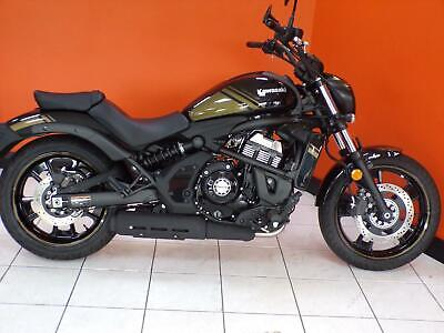 Kawasaki Vulcan S 2020 Model Black/Gold paint finish STUNNING