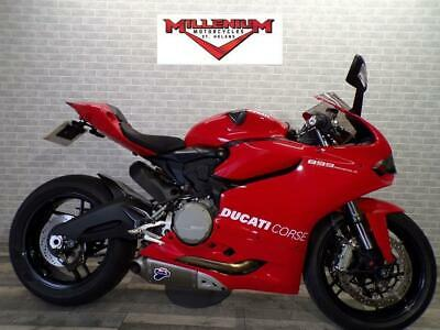 2014 (64)  DUCATI 899 PANIGALE SPORTS BIKE WITH TERMI EXHAUST SYSTEM AND MORE