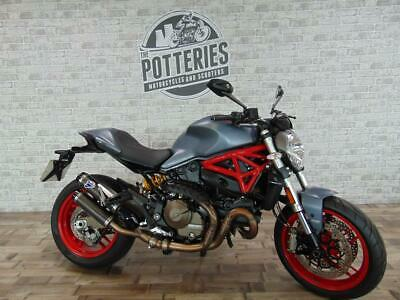 Ducati Monster 821 2017 With low miles and Termignoni System!