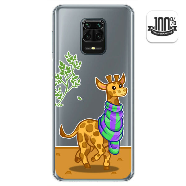 EspagneCoque Gel Transparent Pour Xiaomi Redmi Note 9S / Note 9 Pro  Dessins