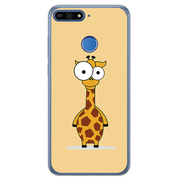 EspagneCoque en Gel TPU Pour Huawei Honor 7A/ Y6 2018 Design  Dessins