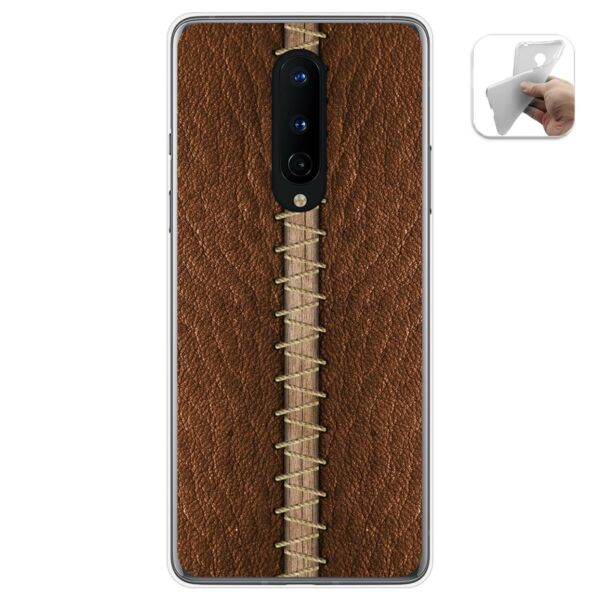 EspagneCover Gel TPU Case Cover For oneplus 8  Leather 01 Drawings