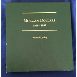 Kyпить MORGAN DOLLARS 1878-1891 COIN ALBUM - NO COINS - LITTLETON - NEW -JBS250 на еВаy.соm