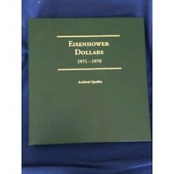 Kyпить EISENHOWER DOLLARS 1971-1978 COIN ALBUM - NO COINS - LITTLETON - NEW - JBS251 на еВаy.соm