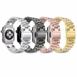 Kyпить Metal Strap For Apple Watch Series 6 5 4 3 2 38-44mm Stainless Steel iWatch Band на еВаy.соm