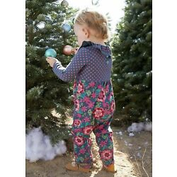 Baby Girls Matilda Jane Moments with you Rosy Posy Romper size 12-18 Months NWT