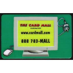 Kyпить 5m 'The Card Mall' Computer Monitor - Green Background. Sticker Rev. Phone Card на еВаy.соm