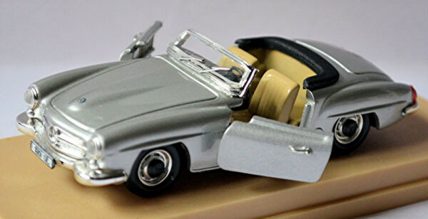 AllemagneMercedes Benz 190 Sl Type : W 121 B II Roadster Décapotable 1955-63 Argent 1:43