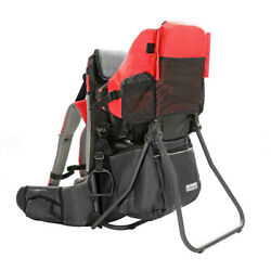 ClevrPlus Baby Toddler Backpack Camping Hiking Child Kid Carrier w/ Shade Visor