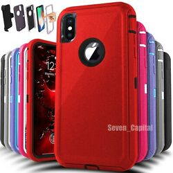 Kyпить For Apple iPhone X XR XS Max 10 Shockproof Protective Rugged Hard Cover Case на еВаy.соm
