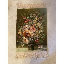 Kyпить Persian Handmade Wall Hanging Carpet Tapestry Floral Silk And Wool (No Frame) на еВаy.соm