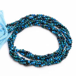 Kyпить 2 mm Natural Chrysocolla Faceted Round Rondelle Beads Jewelry 33 cm Strand AB-12 на еВаy.соm