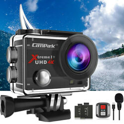Kyпить Campark 4K HD 20MP 1080P Waterproof Sport Action Camera WiFi EIS Video as Go Pro на еВаy.соm