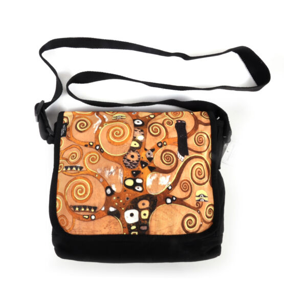 Royaume-UniGustav Klimt - Lebensbaum -Tree of Life / Swirls - Cross Body  Bag