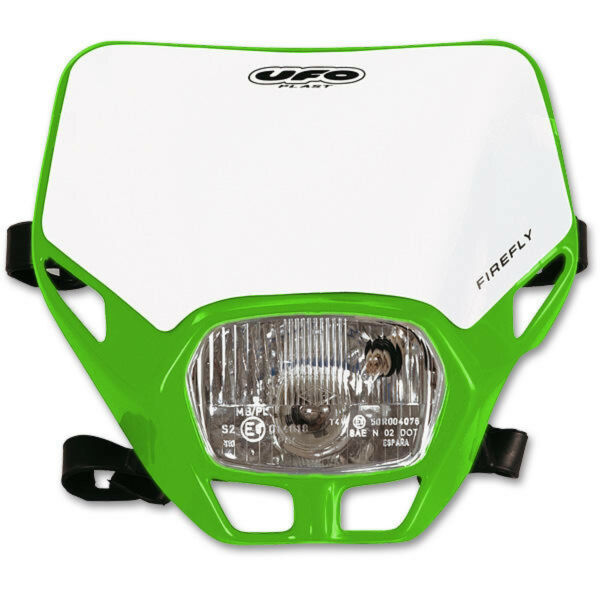 AllemagneUFO Lampe de Masque Phares Firefly Universel  E Vert