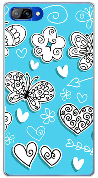 EspagneCoque en Gel TPU Pour Doogee Mix Design s Dessins