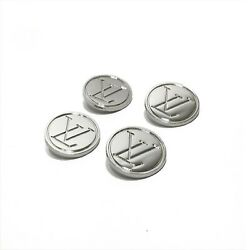Kyпить Louis Vuitton Buttons | LV Metallic Silver 22mm – Lot of 4 на еВаy.соm