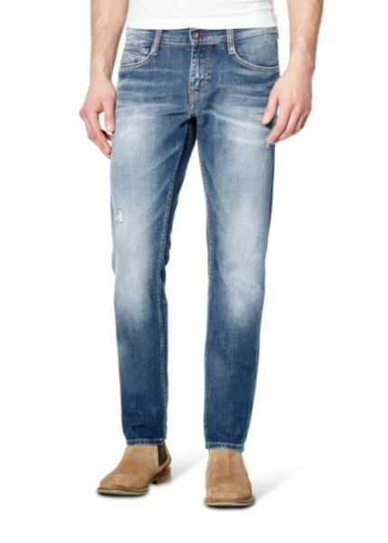 AllemagneMustang Oregon Tapered Jeans Homme, : W30 L34 /Slim Fit