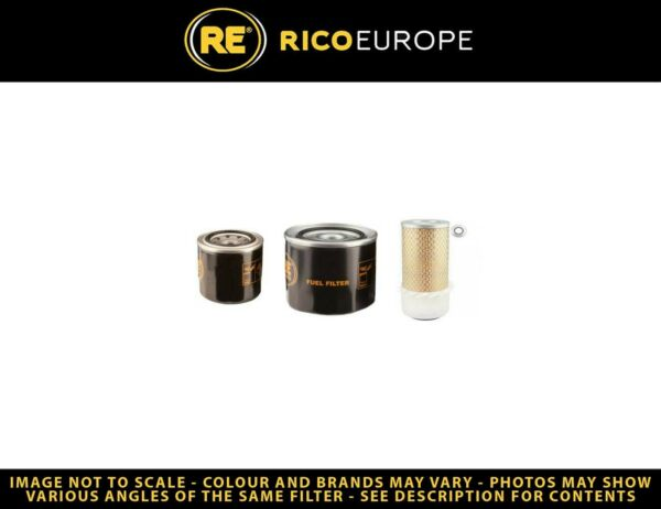 Royaume-UniGehl SL1620 Kit Filtre Carburant Huile Air W /  ave isuzu Eng. Sn