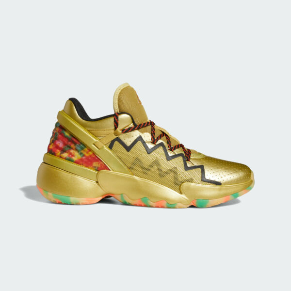 Royaume-UniAdidas Hommes D. O. N.Donovan Mitchell Issue #2 Gummy Édition Chaussures Or