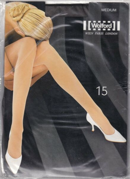 Paris,FranceCollant WOLFORD 15  Mocca. Taille M. Tights.