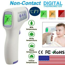 Kyпить Digital LCD Infrared Thermometer Non-contact Forehead Baby Adult Temperature USA на еВаy.соm
