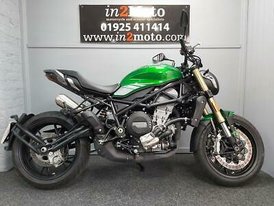 BENELLI 752s  2020 ex demo with only 983 miles on the clock