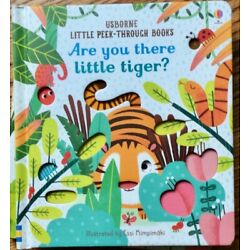 Usborne Little Peek-Through: Are You There Little Tiger? c2019 NEW Board Book
