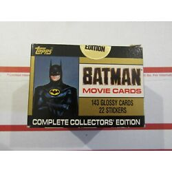 Kyпить Topps Batman Movie Cards Complete Collectors Limited Edition 1989 - Sealed на еВаy.соm